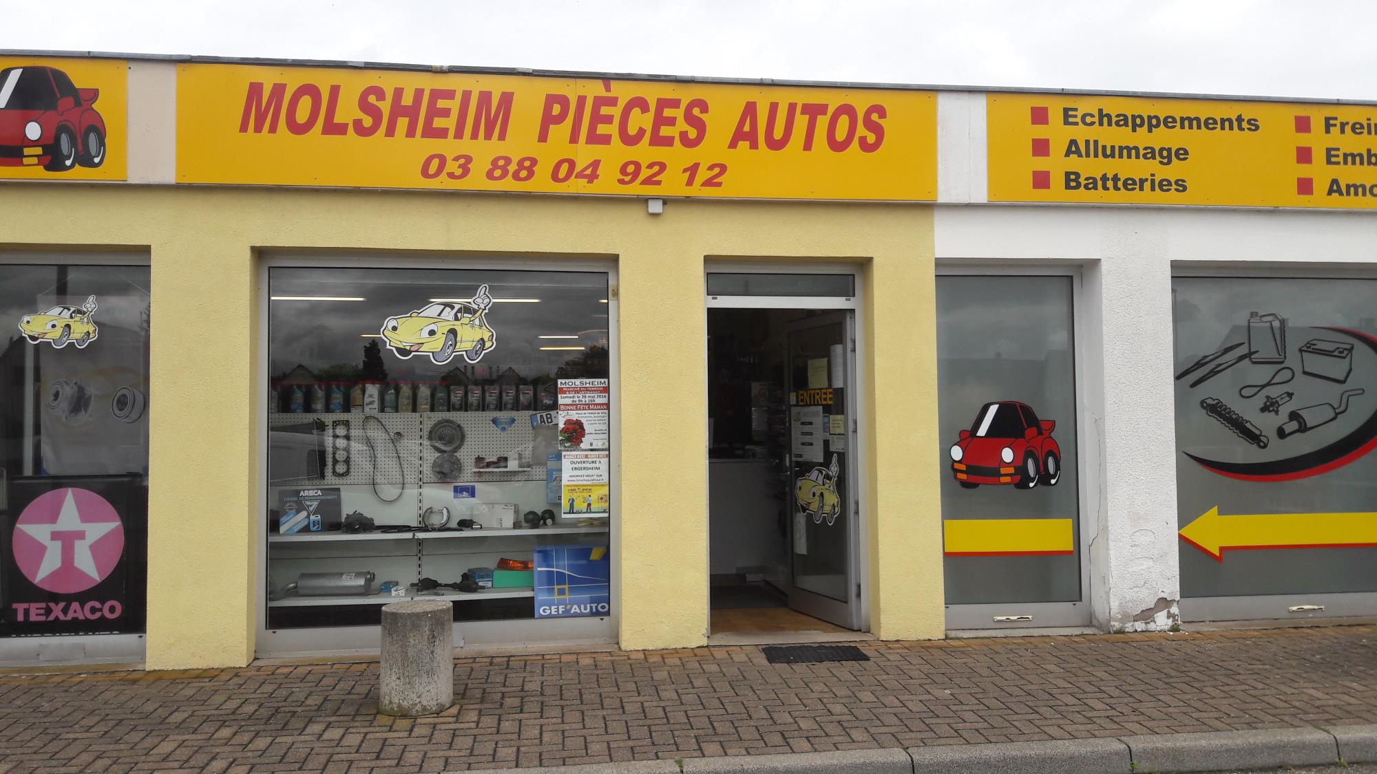Molsheim Pieces Autos